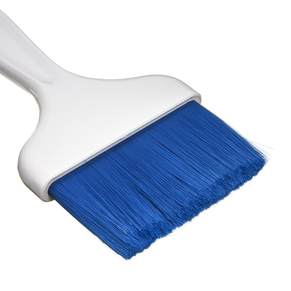 "Carlisle 4039314 4"" Pastry Brush - Nylon/Plastic, Blue"