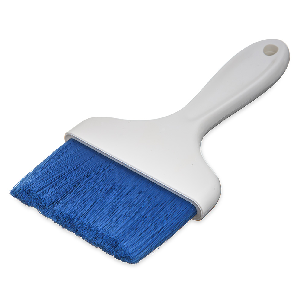 "Carlisle 4039314 4"" Pastry Brush - Nylon/Plastic, Blue"