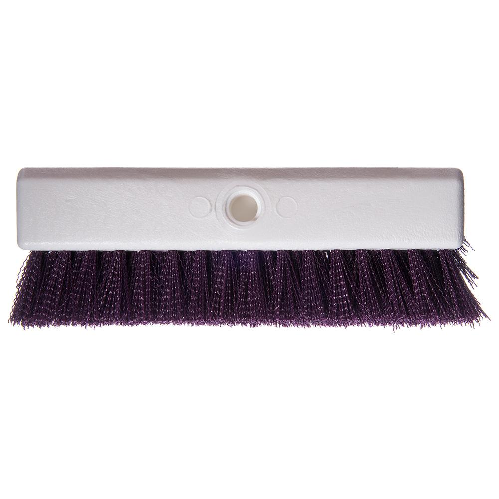 """Carlisle 4042368 10"""" Floor Brush - Purple"""