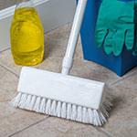Carlisle 4042302 Sparta Hi-Lo Floor Brush, 10 in, w/o Handle