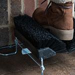 "Carlisle 4042503 10"" Boot 'N Shoe Brush Head - Plastic/Polypropylene, Black"