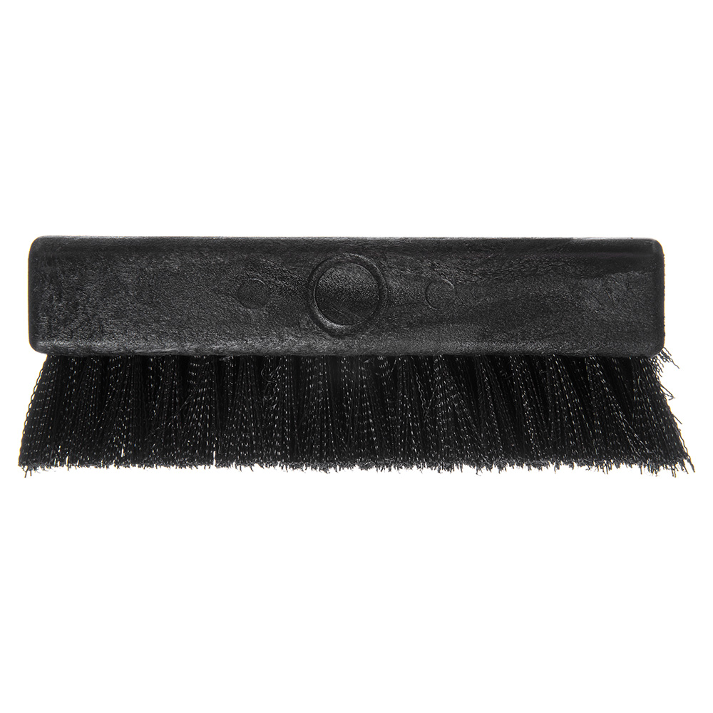 "Carlisle 4042503 10"" Boot 'N Shoe Brush Head - Plastic/Polypropylene, Black"