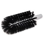 "Carlisle 4046503 8"" Glass Washer Brush Head - Polyester Bristles, Black"