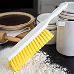 "Carlisle 4048004 13"" Counter/Bench Brush - Poly/Plastic, Yellow"
