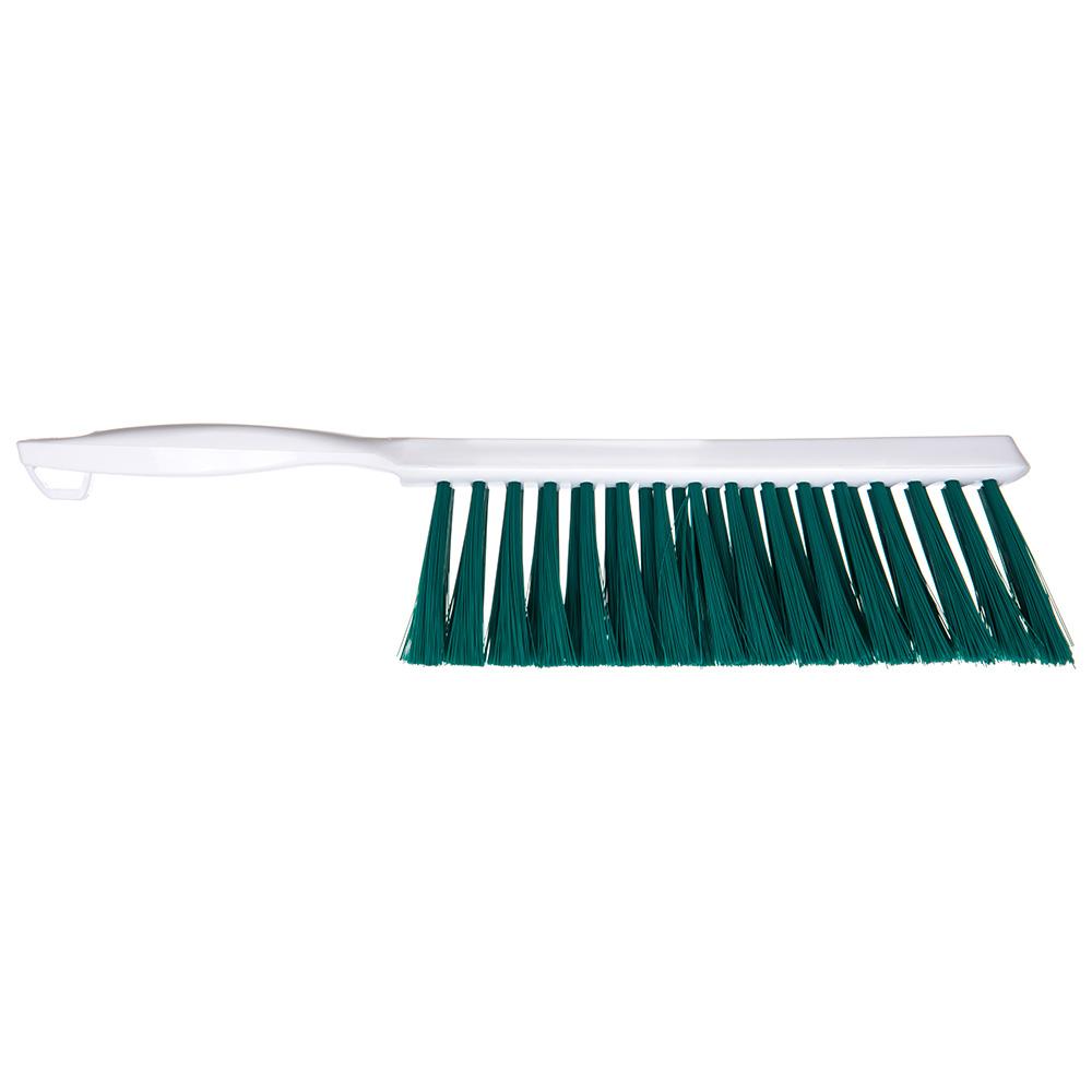 "Carlisle 4048009 13"" Counter/Bench Brush - Poly/Plastic, Green"