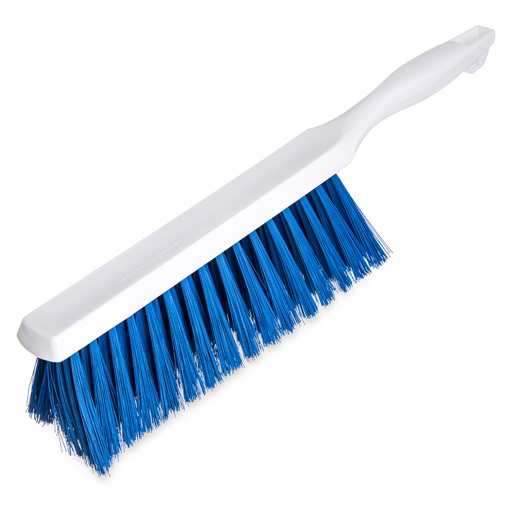 "Carlisle 4048014 13"" Counter/Bench Brush - Poly/Plastic, Blue"