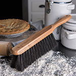 "Carlisle 4048500 13"" Counter/Bench Brush - Poly/Wood"