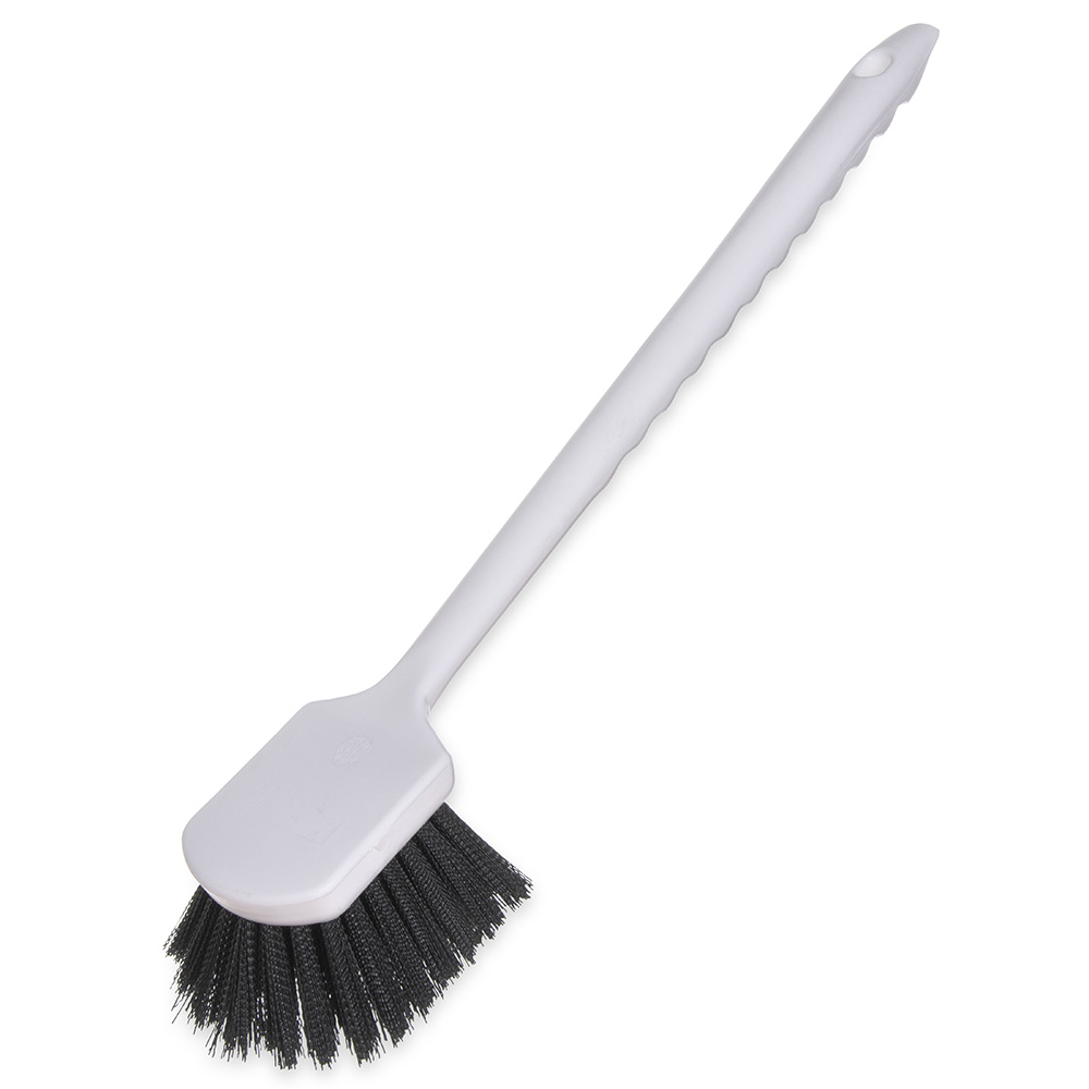 "Carlisle 4050103 20"" Utility Brush - Poly, Black"