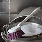 """Carlisle 4050168 20"""" Utility Brush - Poly, Purple"""