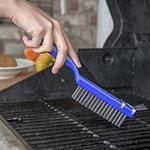 """Carlisle 4067100 11-1/2"""" Scratch Brush - End-Scraper, Carbon Steel/Plastic"""