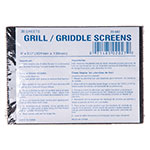 "Carlisle 4071300 Grill Screen - 5-1/2x4x1/8"" Steel Mesh"