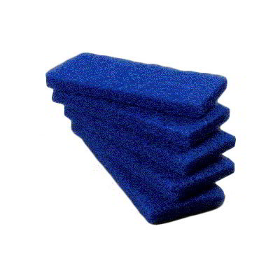 "Carlisle 4072500 Scrub Pad - Medium, 10x4-5/8x1"" Nylon"