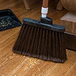 "Carlisle 4108201 48"" Duo-Sweep Angle Broom - Fiberglass/Polypropylene, Brown"