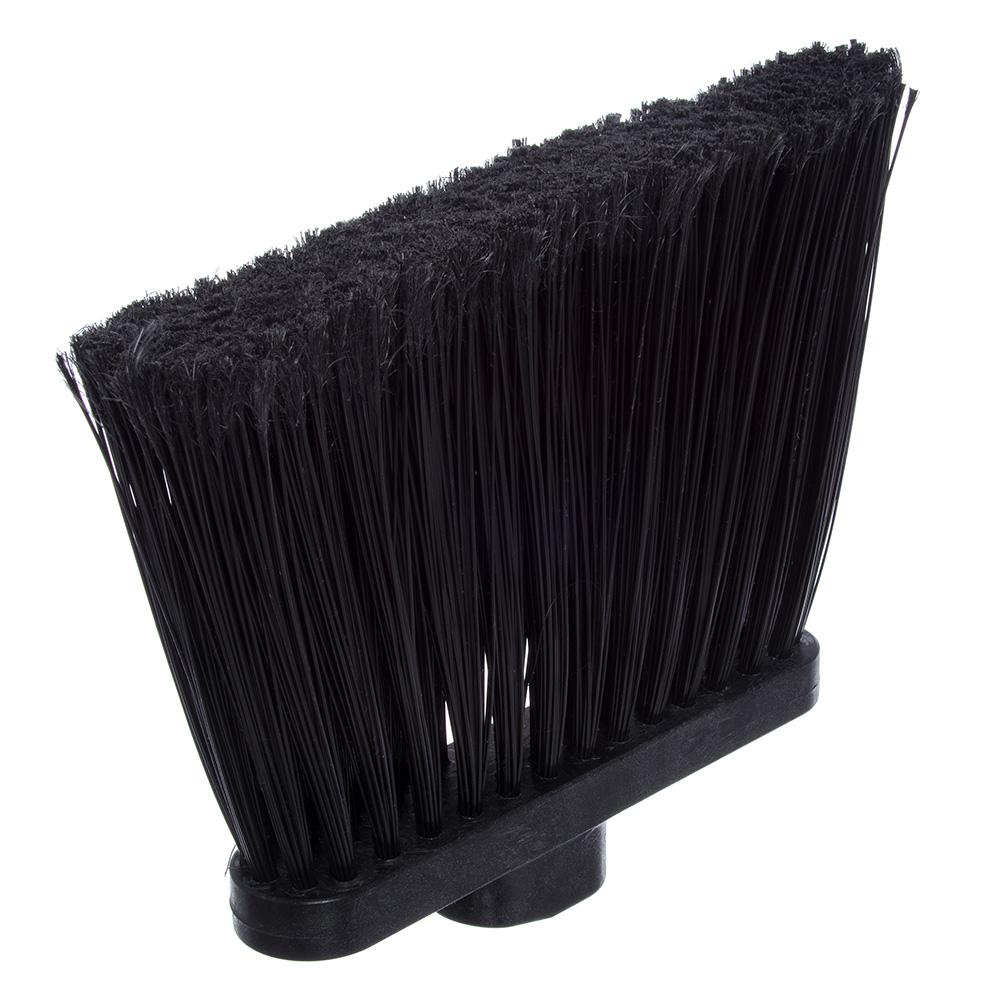 "Carlisle 4108203 48"" Duo-Sweep Angle Broom - Fiberglass/Polypropylene, Black"