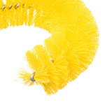 "Carlisle 4110004 11.5"" Clean-In-Place Brush w/ Polyester Bristles, Yellow"