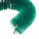 """Carlisle 4110009 11.5"""" Clean-In-Place Brush w/ Polyester Bristles, Green"""