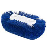 "Carlisle 4117714 Jumbo Tank/Kettle Brush - 6x10-1/2"" Blue"