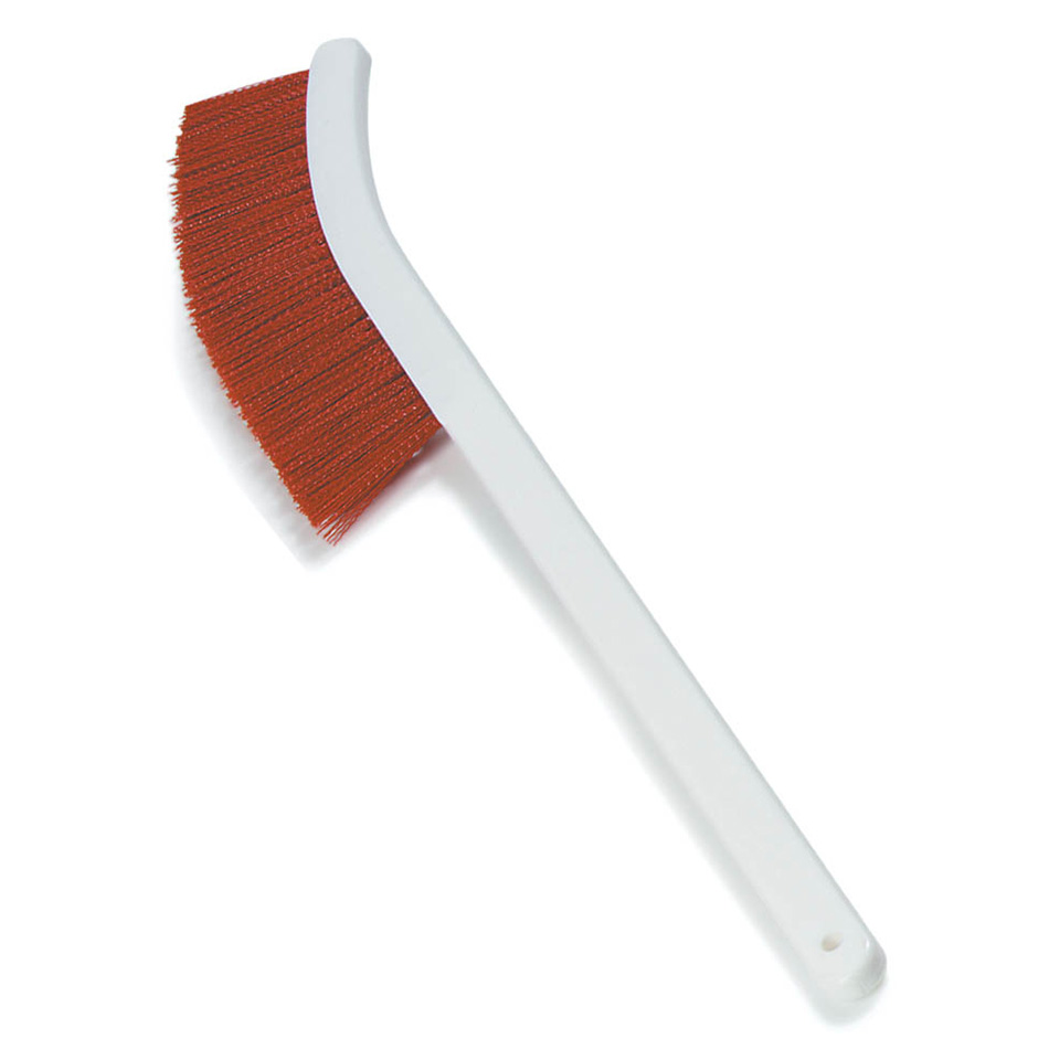 "Carlisle 4119805 24"" Wand Brush w/ Polyester Bristles, Red"