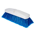 "Carlisle 4127814 10"" Flo-Thru Brush - Blue"