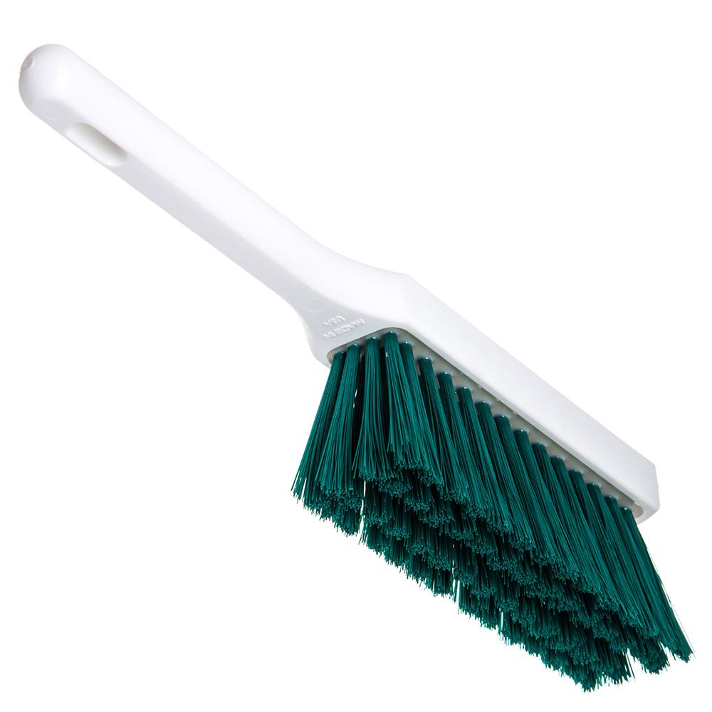 "Carlisle 4137209 13"" Counter Brush w/ Polyester Bristles, Green"