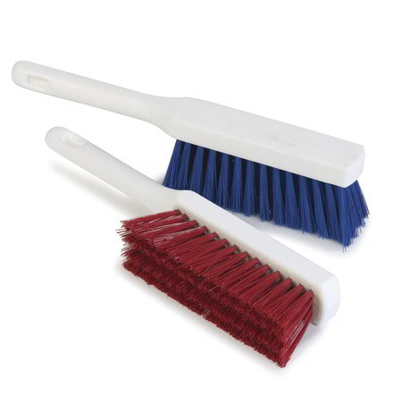 "Carlisle 4137214 13"" Counter Brush w/ Polyester Bristles, Blue"