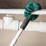 "Carlisle 4139009 12"" Clean-In-Place Brush w/ Polyester Bristles, Green"