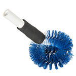 "Carlisle 4139014 12"" Clean-In-Place Brush w/ Polyester Bristles, Blue"