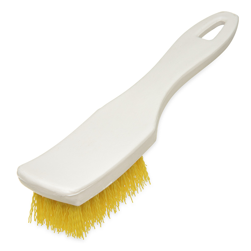 "Carlisle 4139504 7-1/4"" Multi Purpose Hand Brush - Yellow"
