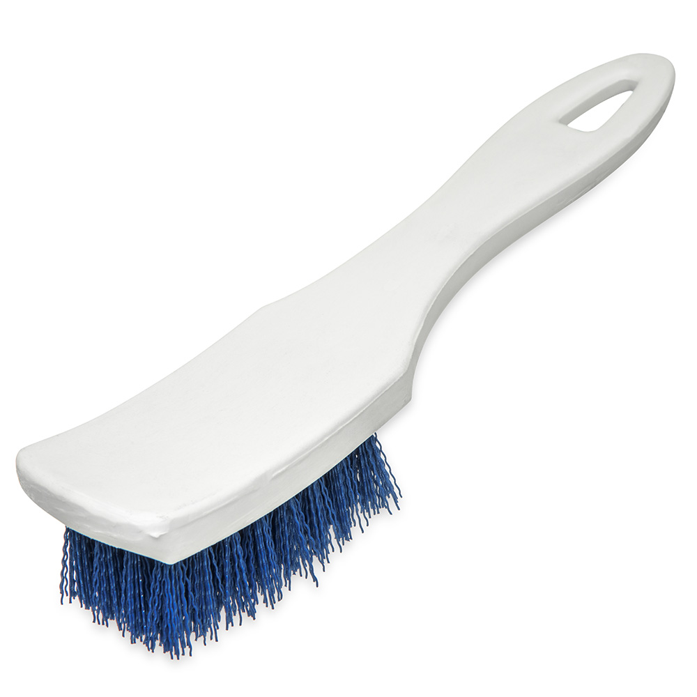 "Carlisle 4139514 7-1/4"" Multi Purpose Hand Brush - Blue"