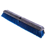 "Carlisle 4188100 24"" Push Broom Head w/ Short Heavy Front & Fine/Medium Back Bristles"
