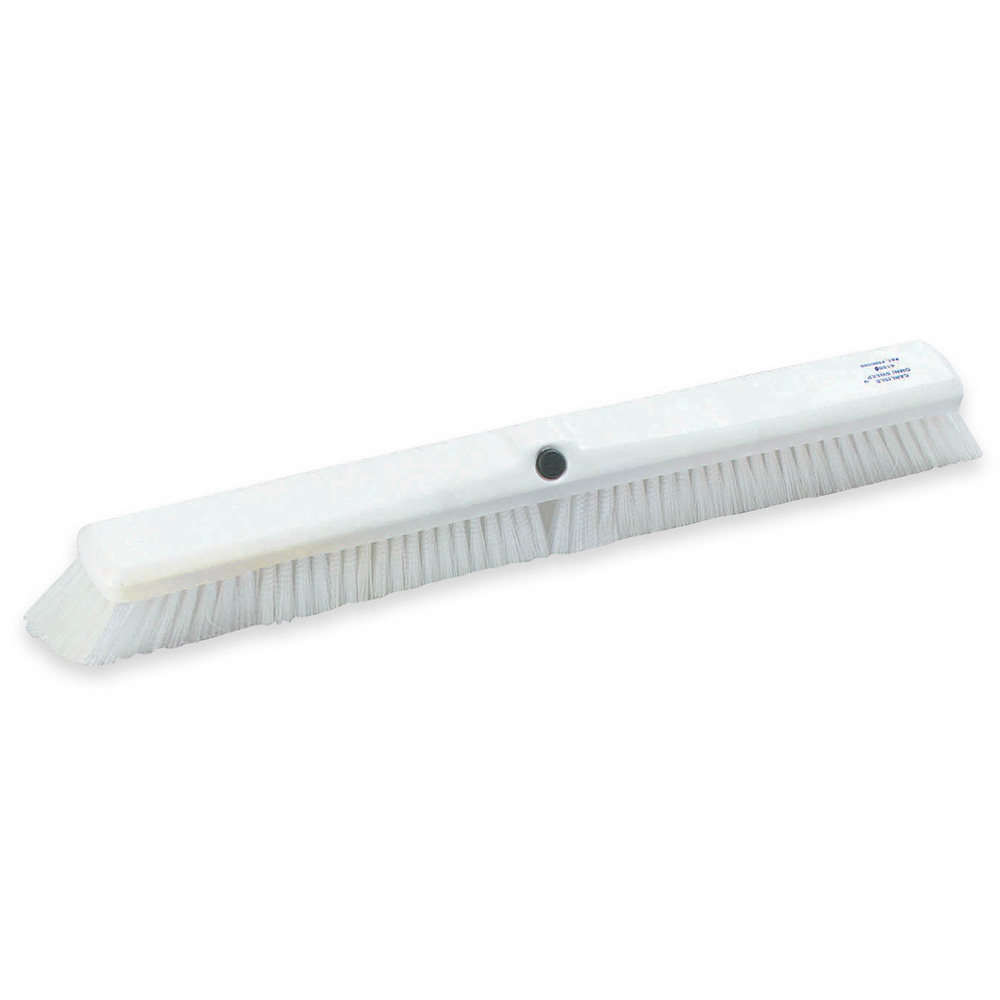 "Carlisle 4189002 18"" Sweep Push Broom - White"