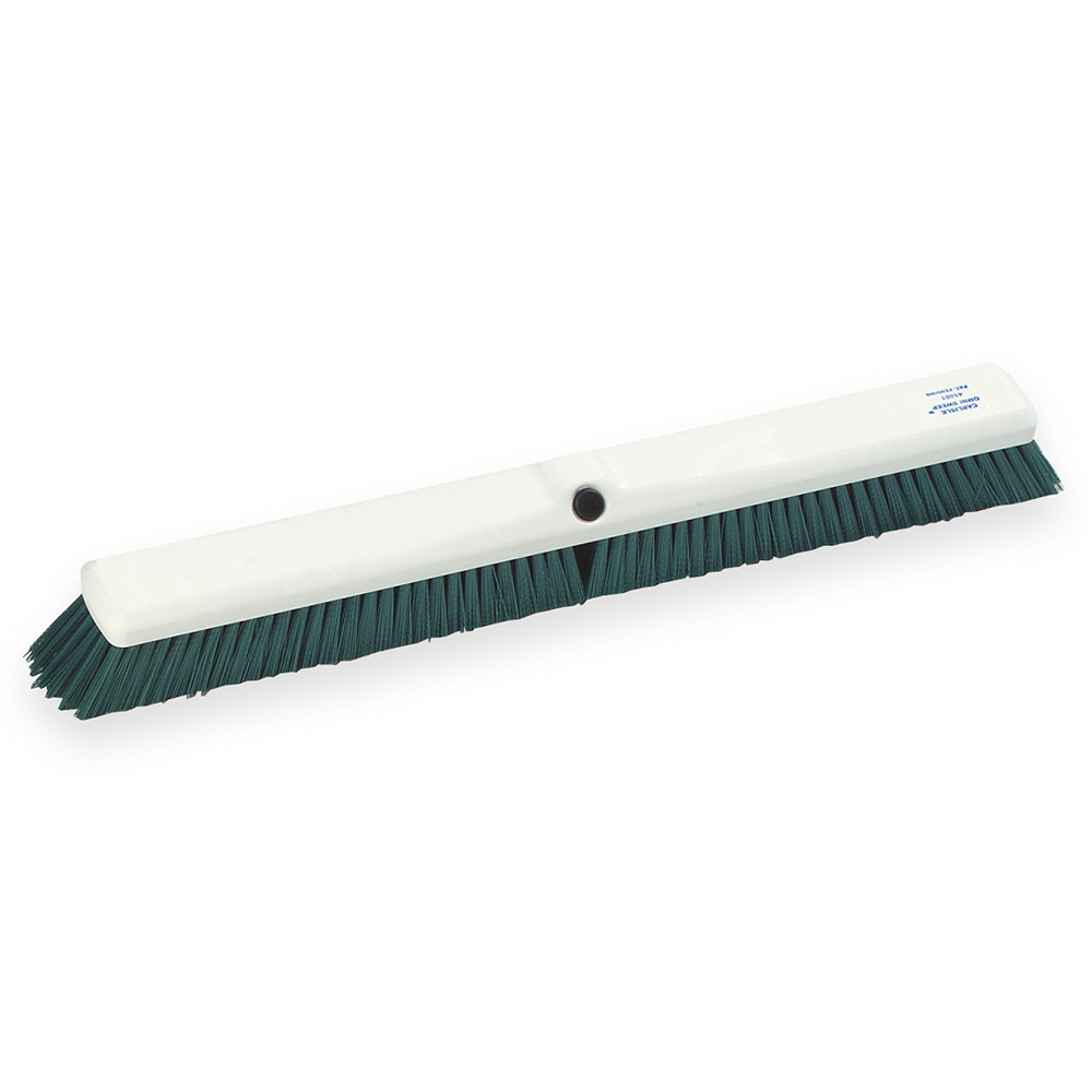 "Carlisle 4189109 24"" Omni Sweep Push Broom - Green"