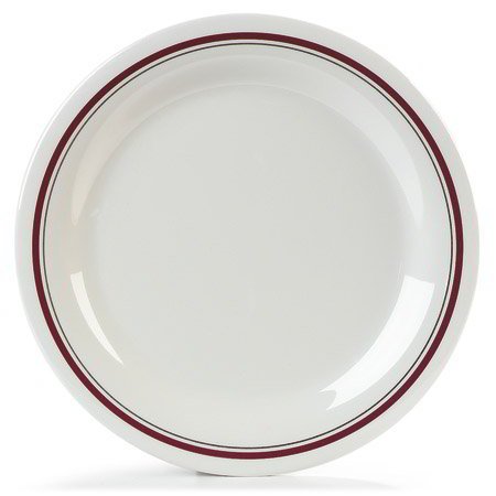 Carlisle 43003903 10.5-in Dinner Plate w/ Narrow Rim, NSF, Morocco On Bone Melamine
