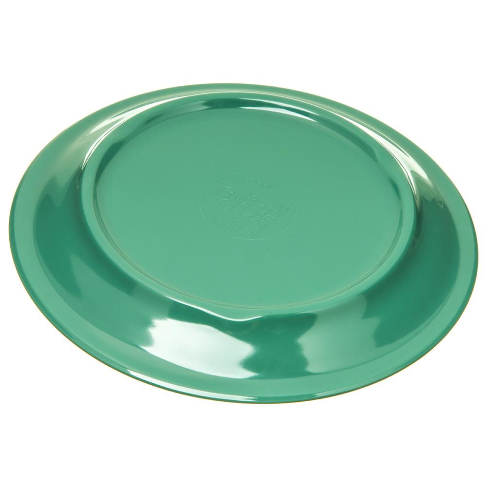 """Carlisle 4300809 6.5"""" Round Pie Plate w/ Narrow Rim, Melamine, Meadow Green"""