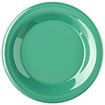 "Carlisle 4301209 9"" Durus Dinner Plate - Wide Rim, Melamine, Meadow Green"