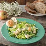 "Carlisle 4303009 12"" Round Chef Salad/Pasta Bowl w/ 20-oz Capacity, Melamine, Meadow Green"