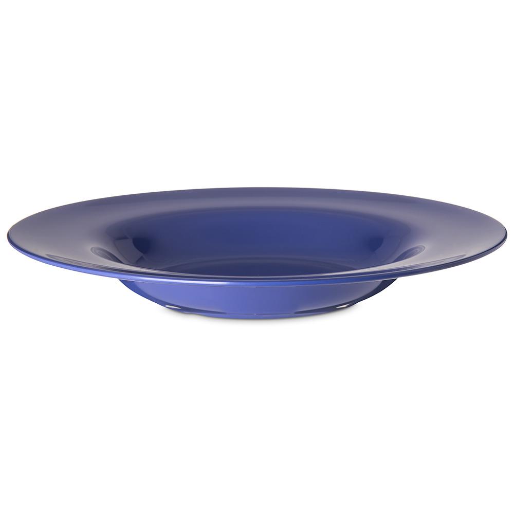 "Carlisle 4303014 12"" Round Chef Salad/Pasta Bowl w/ 20-oz Capacity, Melamine, Ocean Blue"