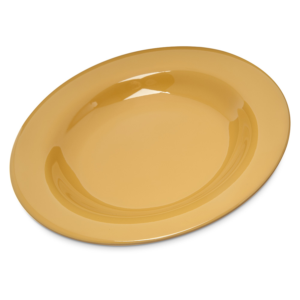 Carlisle 4303022 20-oz Durus Chef Salad/Pasta Bowl - Melamine, Honey Yellow