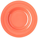 "Carlisle 4303052 12"" Round Chef Salad/Pasta Bowl w/ 20-oz Capacity, Melamine, Sunset Orange"