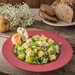 "Carlisle 4303058 12"" Round Chef Salad/Pasta Bowl w/ 20-oz Capacity, Melamine, Roma Red"