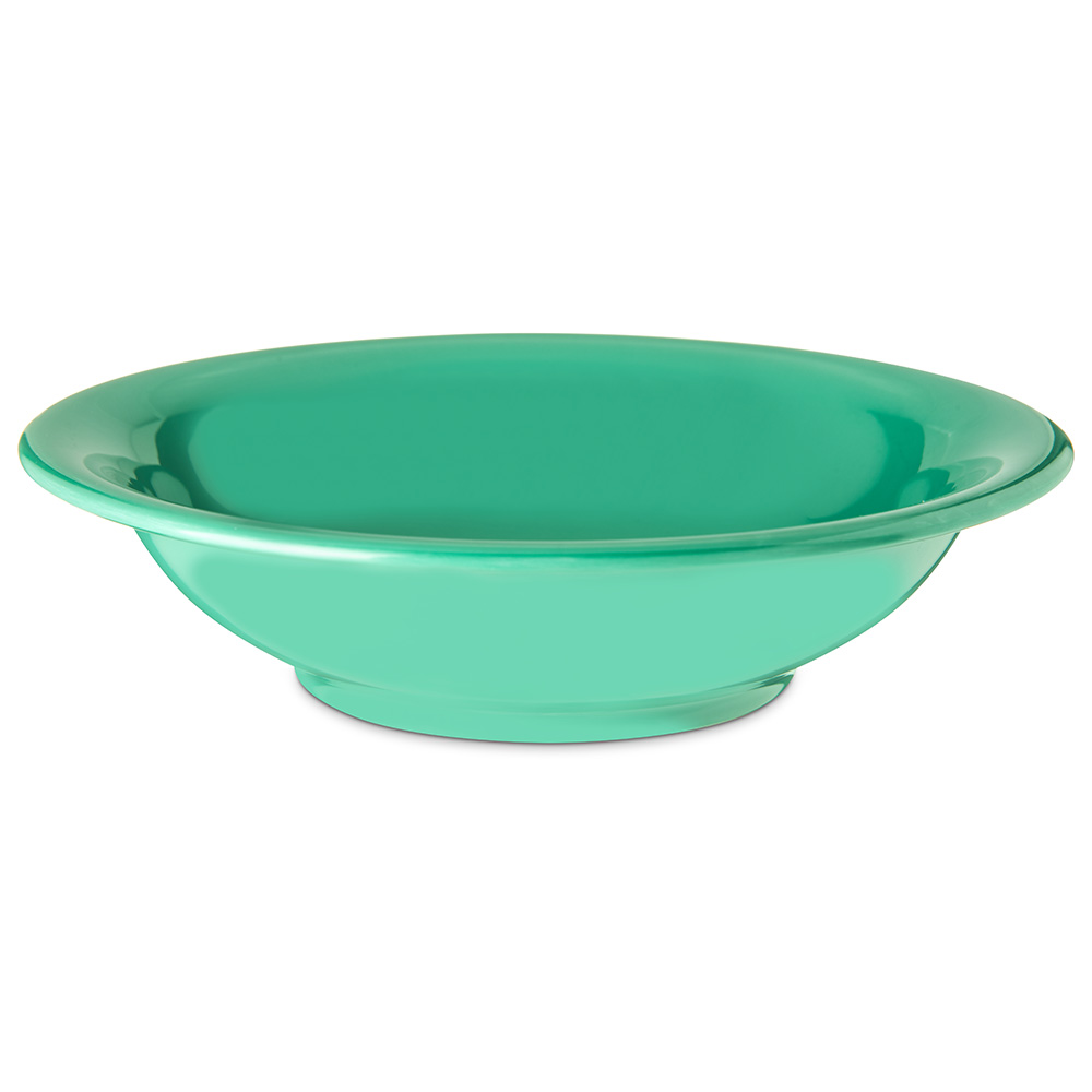 Carlisle 4303209 16-oz Durus Rim Soup Bowl - Melamine, Meadow Green