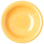 "Carlisle 4303222 7.5"" Round Rim Soup Bowl w/ 16-oz Capacity, Melamine, Honey Yellow"