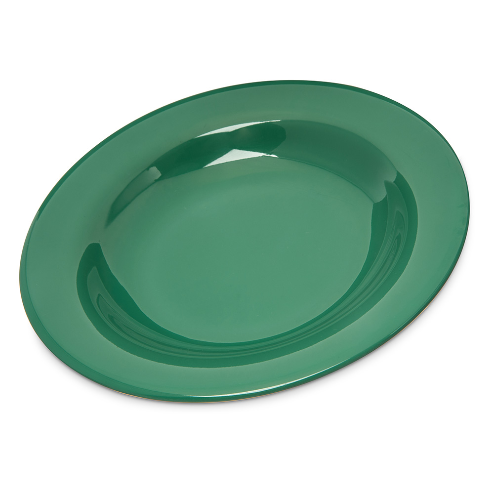 Carlisle 4303409 13-oz Durus Pasta/Soup/Salad Bowl - Melamine, Meadow Green