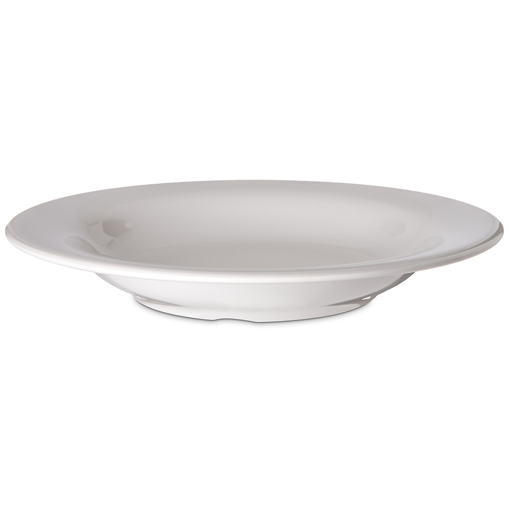 Carlisle 4303442 13-oz Durus Pasta/Soup/Salad Bowl - Melamine, Bone