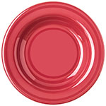"Carlisle 4303458 9.25"" Round Pasta/Soup/Salad Bowl w/ 13-oz Capacity, Melamine, Roma Red"