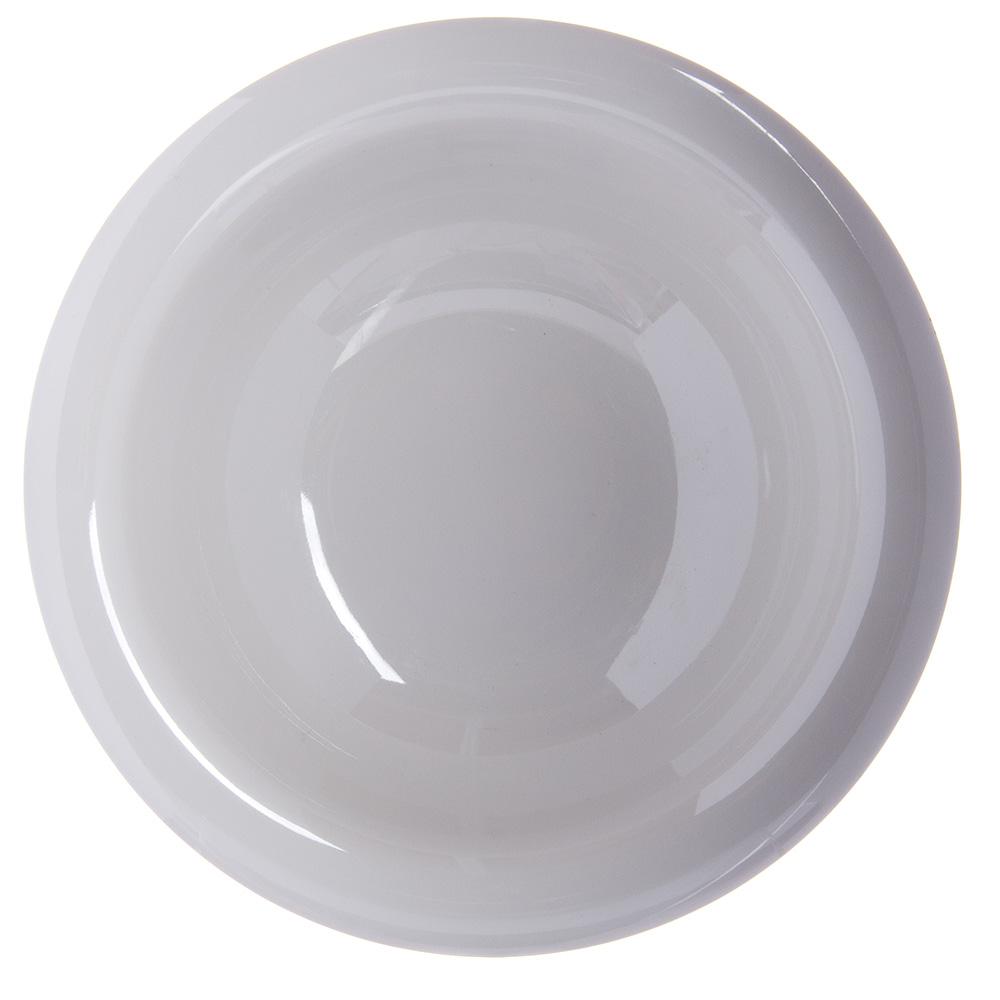 """Carlisle 4303642 7.25"""" Round Rim Soup Bowl w/ 12-oz Capacity, Melamine, Bone"""