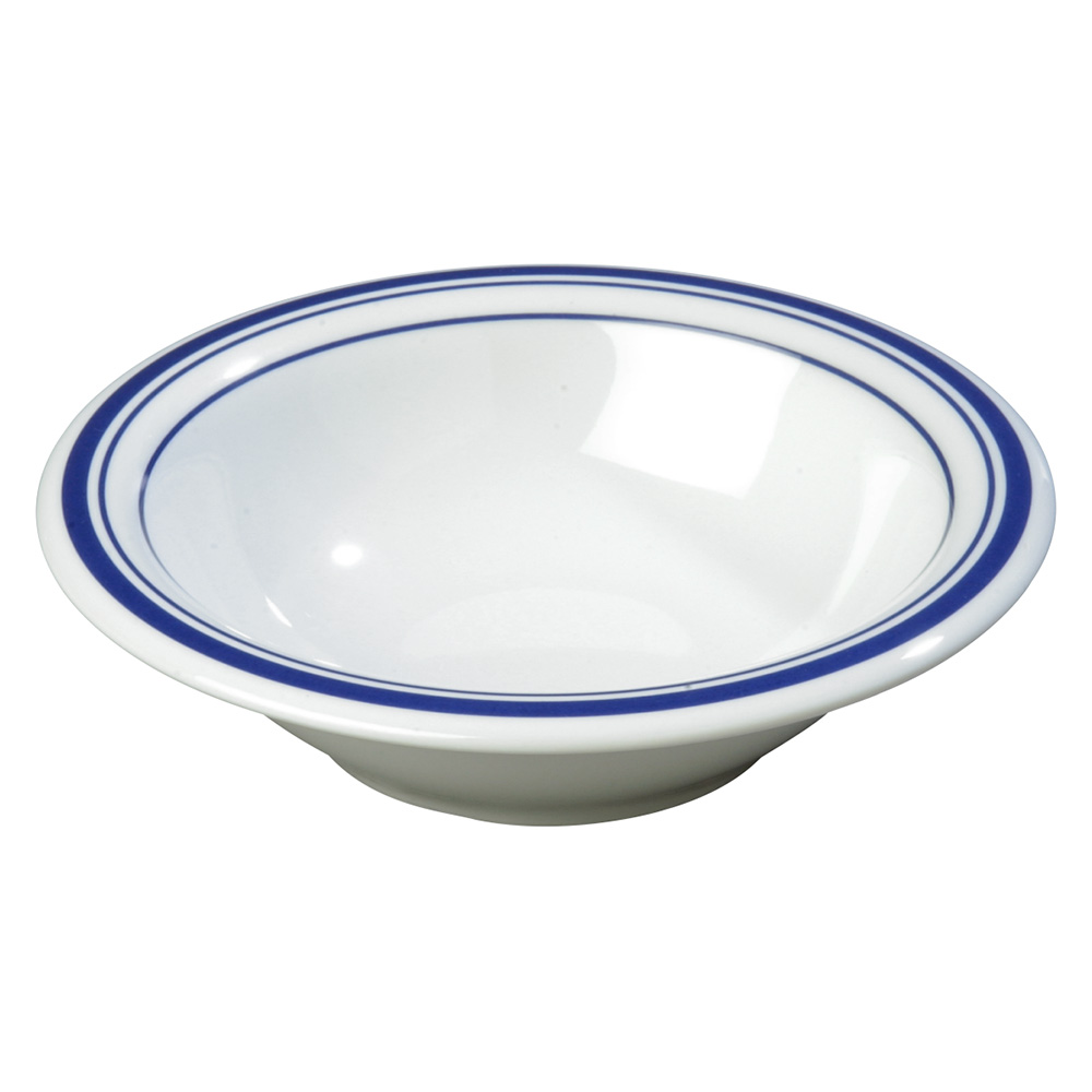Carlisle 43037912 12-oz Durus Rim Soup Bowl - Melamine, London on White