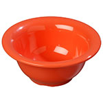 Carlisle 4303852 10-oz Durus Nappie Bowl - Melamine, Sunset Orange