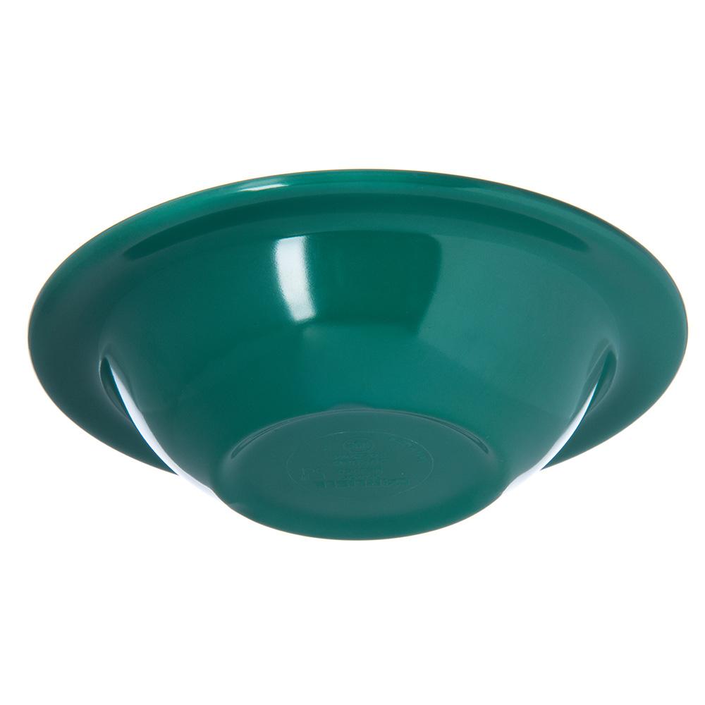 "Carlisle 4304009 6"" Round Rim Soup Bowl w/ 6-oz Capacity, Melamine, Meadow Green"