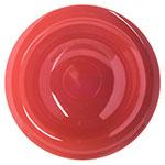 """Carlisle 4304052 6"""" Round Rim Soup Bowl w/ 6-oz Capacity, Melamine, Sunset Orange"""